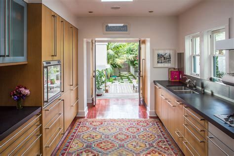 rugs in kitchen Kitchen Traditional with barstools bright