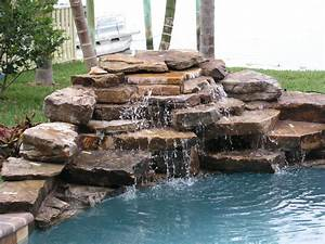 Rock, Water, Fountains
