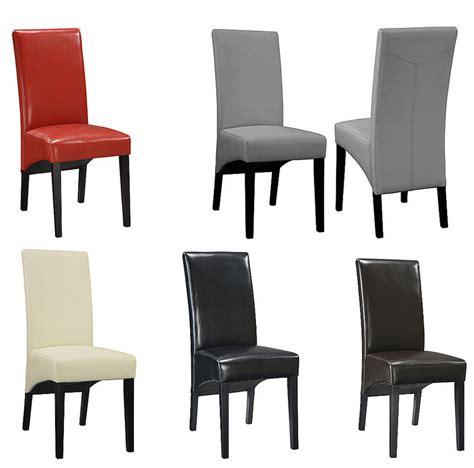chaise salle a manger noir chaise cuir noir salle manger images