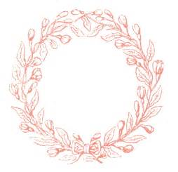 Olive Garden Mothers Day by Vintage Clip Art Lovely Delicate Wreath Frames The