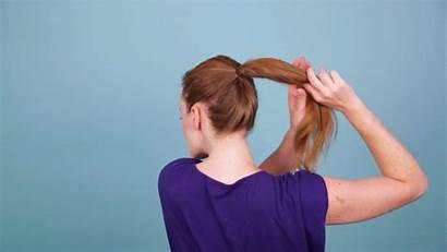 Topknot Hair Quick Ponytail Vids Step Twist