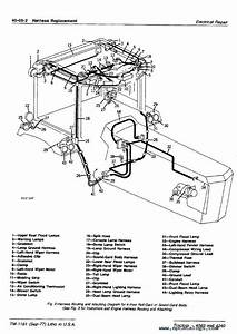 John Deere 4040  U0026 4240 Tractors Tm1181 Pdf Manual
