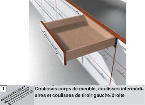 coulisse de tiroir blum a galets sortie totale charge 30 kg quincaillerie caledonnienne