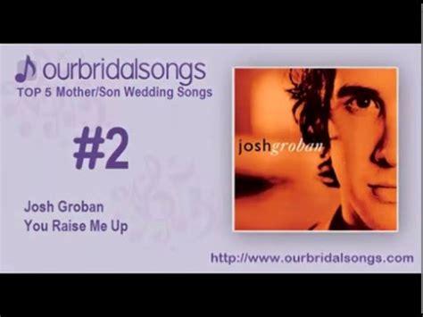Top 5 Mother Son Wedding Songs Youtube
