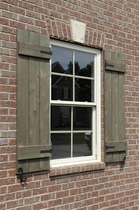 custom shutters with hardware