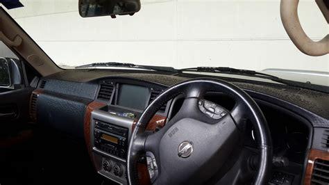 nissan patrol sun damaged dashboard auto expert  john