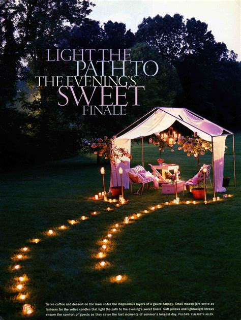 You can please those little angels you invited in the party with such interesting decoration. Urban Comfort | Backyard party lighting, Backyard movie nights, Backyard party
