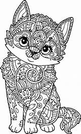 Mandala Coloring Adult Puppy Mandalas Coloriage Kleurplaten Dog Adults Animal Dessin Animaux Animals Kleurplaat Puppies Ausmalbilder Dieren Pintar Animales Wecoloringpage sketch template