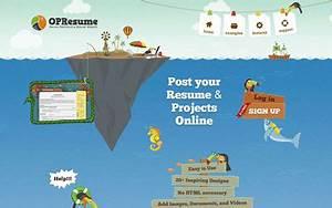 Online Portfolio And Resume Website Awwwards Nominee