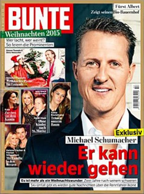 michael schumacher responding  treatment claims