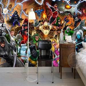 Marvel Comic Wall Mural