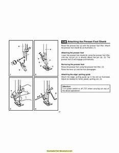 Singer 2263 Sewing Machine Instruction Manual