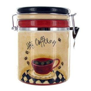 coffee themed kitchen canisters beverage station coffee tea cocoa on coffee