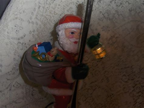 mr christmas animated santa lighted tree topper 1994 rare