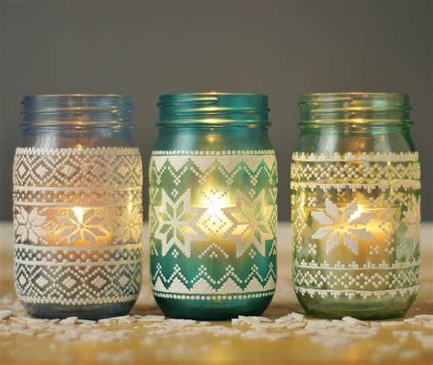 decorating jars sweater candles jar decor popsugar home