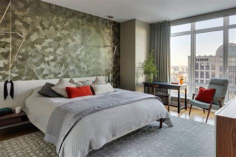modern apartment   bedrooms decorated  eclectic