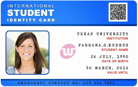 psd university card images business card psd template