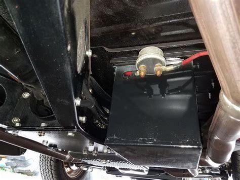 car street rod parts  ford  battery box