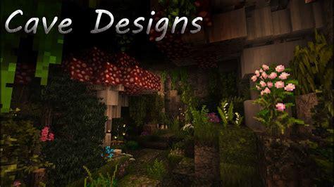 minecraft tutorial cave designs youtube