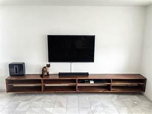 Tv Panel Selber Bauen : tv lowboard holz selber bauen ~ Lizthompson.info Haus und Dekorationen
