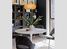 Saarinen Executive chair along with the Tulip Dining Table