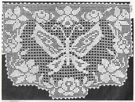 rideau cantonniere avec papillon filet crochet 1 toutes les grilles grilles gratuites