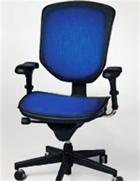 tempronics heated and cooled office chair an office