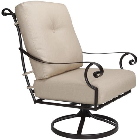 Charles Eclipse Swivel Chair by Ow St Charles Cushion Swivel Club Chair Outdoor
