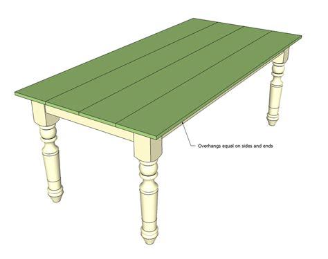 turned leg farmhouse table ana white turned leg farmhouse table diy projects