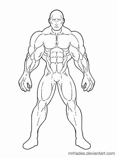 Template Superhero Drawing Templates Massive Draw Own