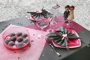 Deco Table Rose Et Gris : d co de table rose et gris ~ Melissatoandfro.com Idées de Décoration