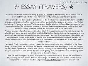 How To Write A Thesis Statement For An Essay Dandelion Wine Ray Bradbury Essay Book Good High School Essay Topics also Science Essay Topic Ray Bradbury Essay Essay On Albert Einstein Ray Bradbury Fahrenheit  English Essay Speech