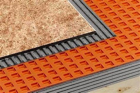 perfect underlayment  ceramic  stone tile