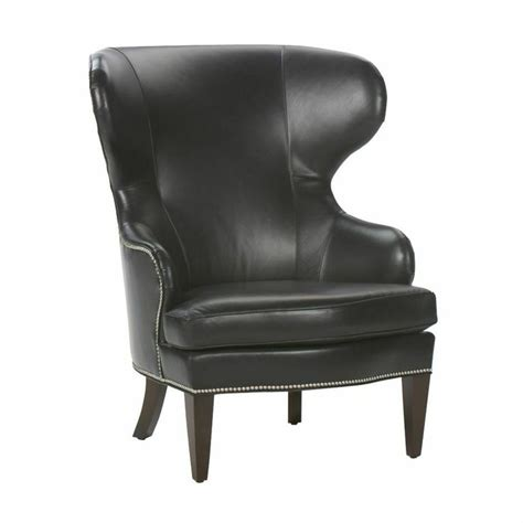 rand leather wing chair ethan allen us home