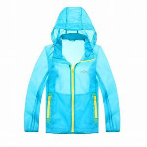 3 color Outdoor kids Jacket Waterproof children thin light ...
