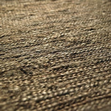 tapis chanvre tiss 233 224 plat marron fonc 233 601 loook 140x200