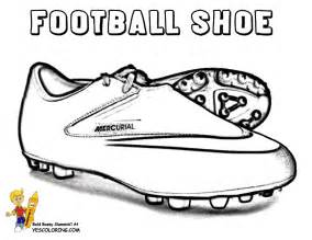 Nike Soccer Shoes Coloring Pages