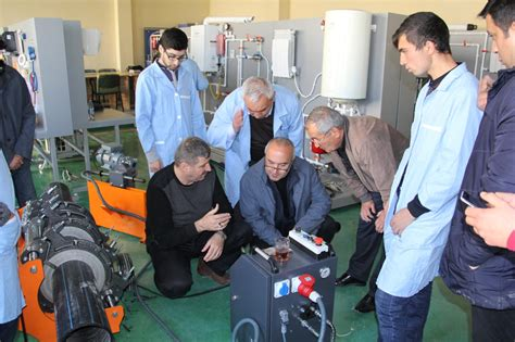 eu undp open new industrial workshop at vocational education and training school in ganja