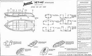 Unlimited Hydroplane Boat Plans