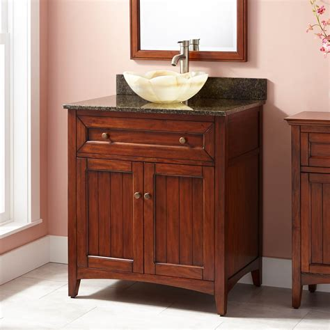 cherry bathroom vanity 36 quot halifax vessel sink vanity antique cherry bathroom