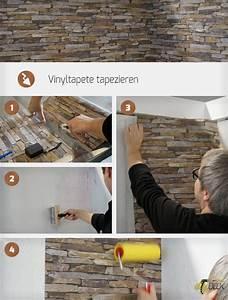 Fenster Tapezieren Anleitung : vinyltapete tapezieren anleitung ~ Lizthompson.info Haus und Dekorationen