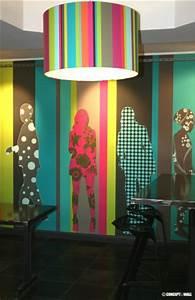 Papier Peint Sticker : deco murale papier peint et stickers architecture ~ Premium-room.com Idées de Décoration