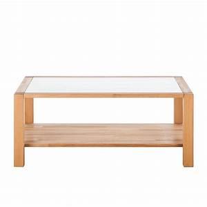 Couchtisch Buche Glas : couchtisch buche massivholz 110x70cm glas beistelltisch wohnzimmer tisch neu ebay ~ Frokenaadalensverden.com Haus und Dekorationen