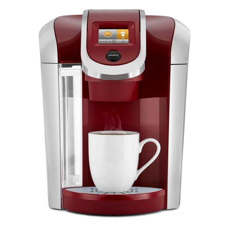 Coffee brewer that comes with its own travel mug is only $54.99 at walmart. Keurig K425 Single Serve K-Cup Pod Vintage Red Coffee Maker - Walmart.com
