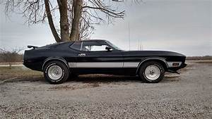 1973 Ford Mustang, Q code, Sport roof/fastback, Mach 1 clone