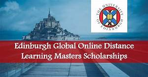 Edinburgh Global Online Distance Learning Masters ...