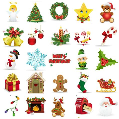 printable christmas cutouts and decorations bingo free printables