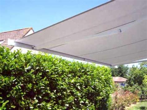 protection solaire en terrasse par un store banne