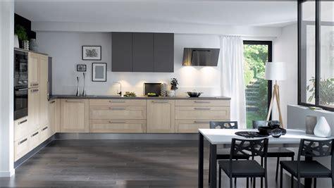 cuisine cuisinella cuisine bois cuisine noir et bois cuisinella