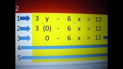 microsoft excel math algebra    intercept  tutoring calculator youtube